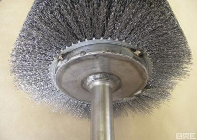 Strip enroulé soudé sur axe acier garnissage acier ondulé