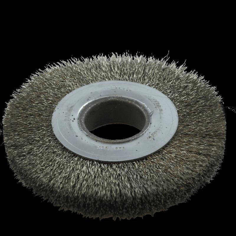 Brosse circulaire inox