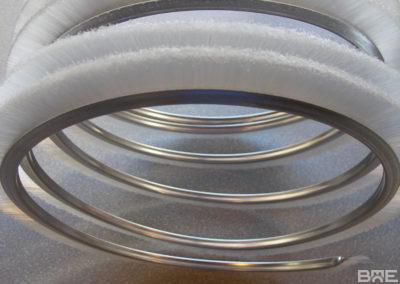 Strip enroulé fibres extérieures