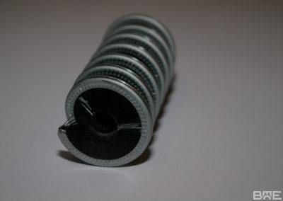 Strip enroulé fibres intérieures pour nettoyage de cordages