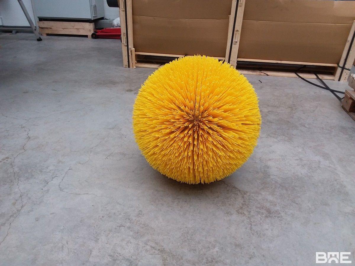 Brosse boule pour le nettoyage de canalisation